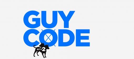 Logo for Guy Code season 3 on MTV 2
