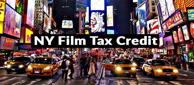 New York is offering a 30% tax cut on films with at least 75% of their film done in New York prior to post production.