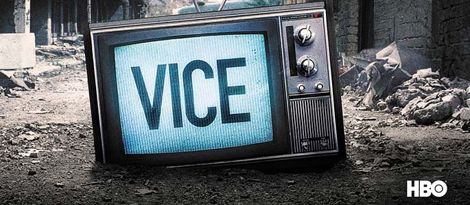 Logo for VICE on HBO. Producer's Toolbox provided blanket music licensing for the show.