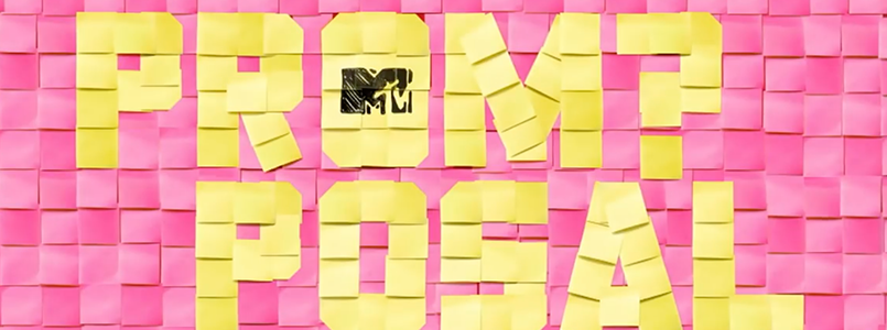 Banner for MTV's Promposal, Flavorlab Sound provided sound design and mix for the show.