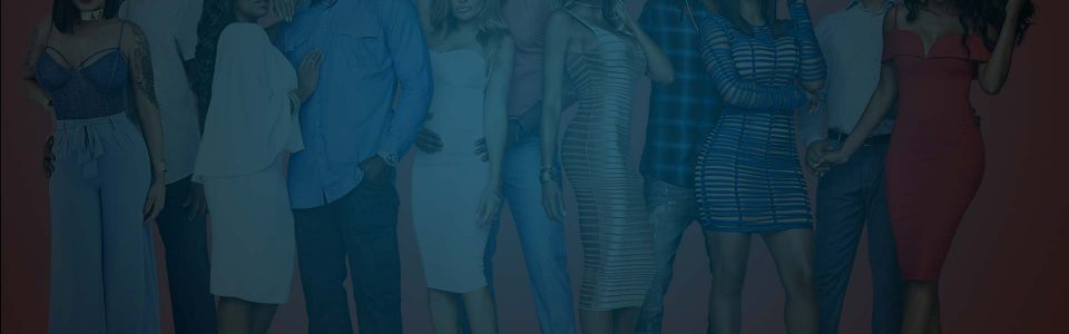 Banner from MTV's Baller Wives of all the players and their wives standing in a line. Flavorlab Producer's Toolbox provided blanket music licensing to the show, Flavorlab Sound provided mix.