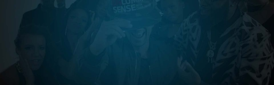 Still of Charlamagne in show Uncommon Sense. Producer's Toolbox provided music licensing for the show.