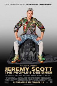 Flavorlab provided sound design and mix for Jeremy Scott: The People's Designer