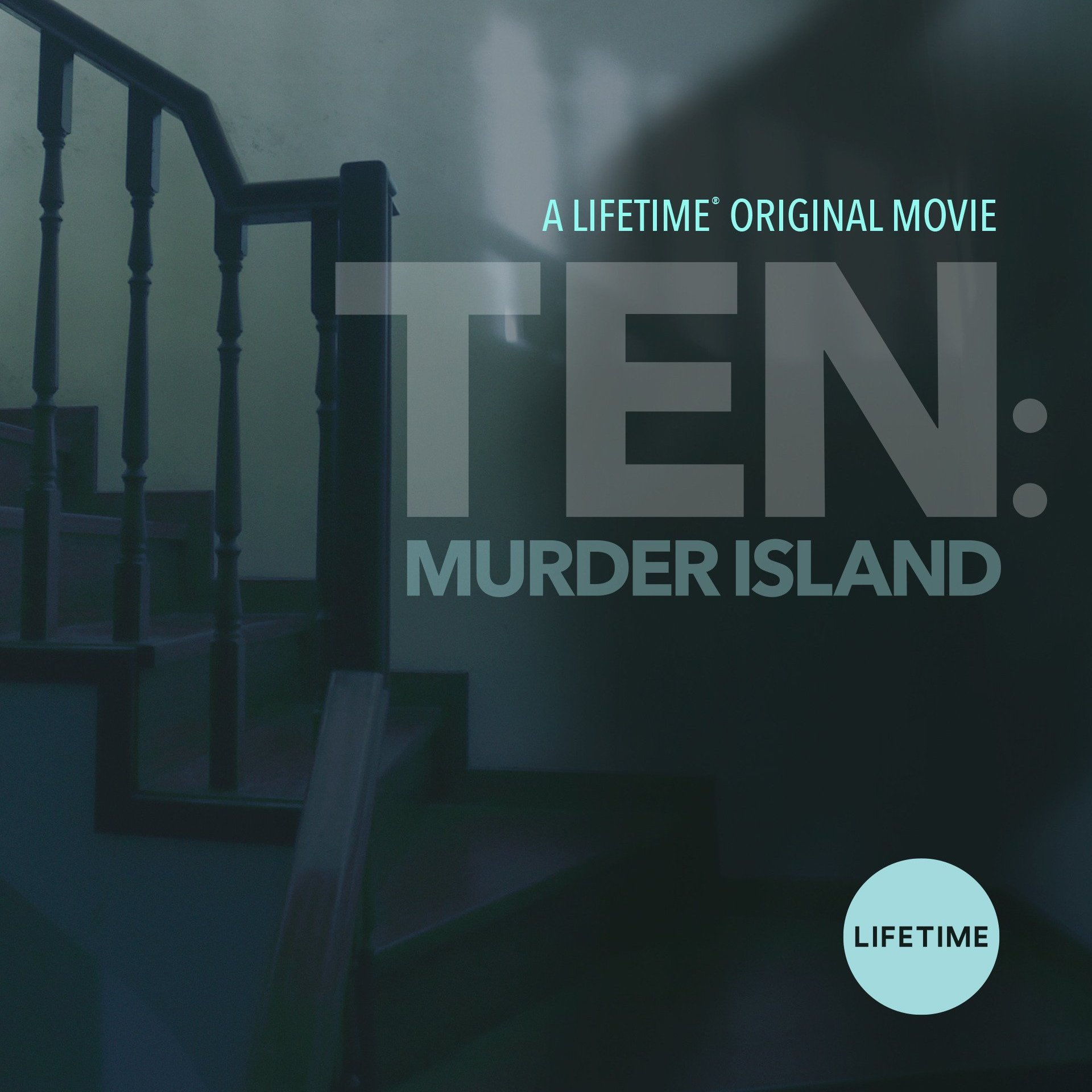 Official poster for Lifetime's Ten: Murder Island. Producer's Toolbox provided music licensing for the film.