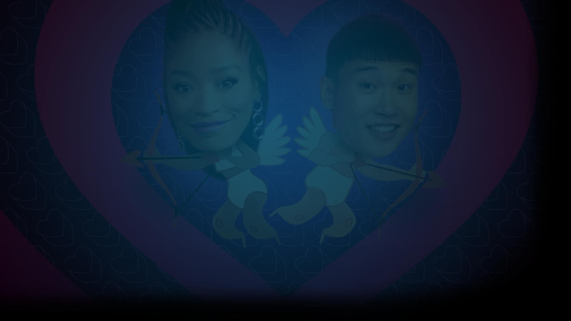 Keke Palmer and Joel Kim Booster, host of Quibi dating show, Singled Out